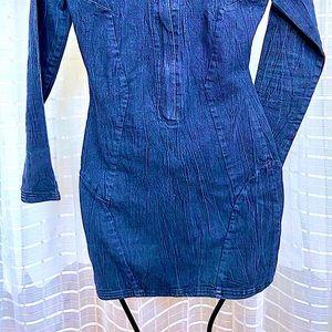 Bebe Jean dress